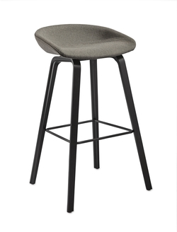 About Stool AAS32 Roble/Tapizado